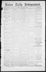 Raton Daily Independent, 11-02-1886