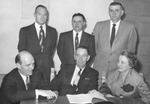 Photograph of the UNM Board of Regents 1951