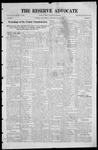 The Reserve Advocate, 07-16-1921 by A. H. Carter