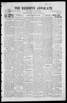 The Reserve Advocate, 08-27-1921 by A. H. Carter