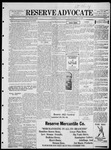 The Reserve Advocate, 08-26-1922 by A. H. Carter