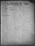 La Revista de Taos, 01-01-1909 by José Montaner