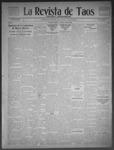 La Revista de Taos, 01-22-1909 by José Montaner