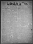 La Revista de Taos, 02-19-1909 by José Montaner