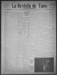La Revista de Taos, 03-26-1909 by José Montaner