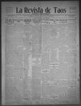 La Revista de Taos, 04-16-1909 by José Montaner