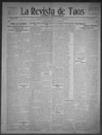 La Revista de Taos, 05-07-1909 by José Montaner
