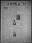 La Revista de Taos, 05-14-1909 by José Montaner