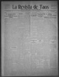 La Revista de Taos, 07-23-1909 by José Montaner