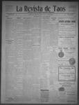 La Revista de Taos, 08-13-1909 by José Montaner