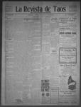 La Revista de Taos, 09-10-1909 by José Montaner