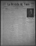 La Revista de Taos, 10-08-1909 by José Montaner
