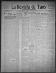 La Revista de Taos, 10-15-1909 by José Montaner