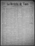 La Revista de Taos, 10-22-1909 by José Montaner