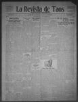 La Revista de Taos, 10-29-1909 by José Montaner