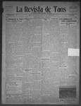 La Revista de Taos, 11-05-1909 by José Montaner