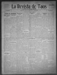La Revista de Taos, 12-03-1909 by José Montaner