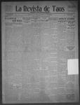 La Revista de Taos, 12-10-1909 by José Montaner