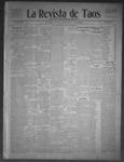 La Revista de Taos, 01-14-1910 by José Montaner