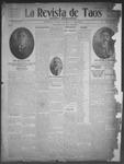 La Revista de Taos, 01-08-1909 by José Montaner