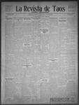 La Revista de Taos, 02-05-1909 by José Montaner