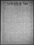 La Revista de Taos, 02-26-1909 by José Montaner