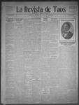 La Revista de Taos, 03-19-1909 by José Montaner