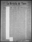 La Revista de Taos, 04-09-1909 by José Montaner