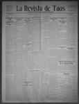 La Revista de Taos, 06-11-1909 by José Montaner