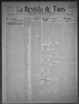 La Revista de Taos, 07-02-1909 by José Montaner