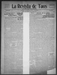 La Revista de Taos, 09-24-1909 by José Montaner