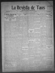 La Revista de Taos, 11-12-1909 by José Montaner