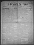 La Revista de Taos, 11-19-1909 by José Montaner