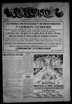 La Revista de Taos, 04-30-1915 by José Montaner