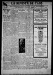 La Revista de Taos, 10-04-1918 by José Montaner