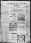 Rio Grande Republican, 12-01-1888 by Charles Metcalfe
