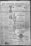 Rio Grande Republican, 12-22-1888 by Charles Metcalfe