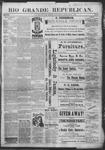 Rio Grande Republican, 02-09-1889 by Charles Metcalfe