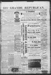 Rio Grande Republican, 03-02-1889 by Charles Metcalfe