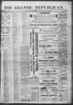 Rio Grande Republican, 04-20-1889 by Charles Metcalfe