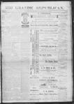 Rio Grande Republican, 06-08-1889 by Charles Metcalfe