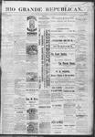 Rio Grande Republican, 06-29-1889 by Charles Metcalfe