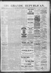 Rio Grande Republican, 09-07-1889 by Charles Metcalfe