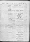Rio Grande Republican, 12-07-1889 by Charles Metcalfe