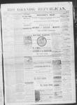 Rio Grande Republican, 12-21-1889 by Charles Metcalfe