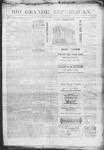 Rio Grande Republican, 08-09-1890 by Charles Metcalfe