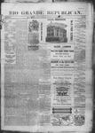 Rio Grande Republican, 08-16-1890 by Charles Metcalfe
