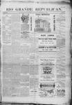 Rio Grande Republican, 09-06-1890 by Charles Metcalfe