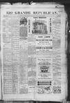 Rio Grande Republican, 09-13-1890 by Charles Metcalfe