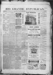 Rio Grande Republican, 09-20-1890 by Charles Metcalfe